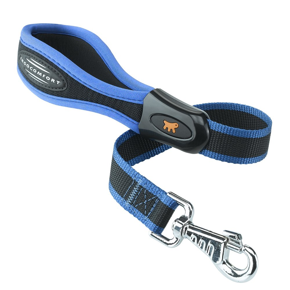 Ferplast Ergocomfort Guinzaglio Imbottito 25mm x 55 Centimetri Blu
