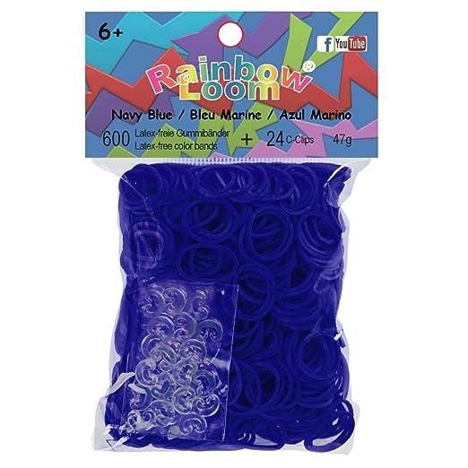 49 opinioni per Gioielli Artigianali Arcobaleno Loom- Elastici Blu 600 S.