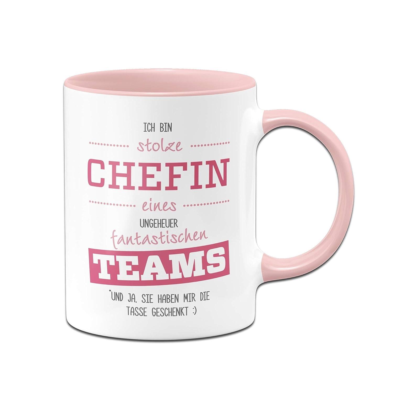 Tasse Stolze Chefin eines fantastischen Teams - Geschenke für Chefin ...