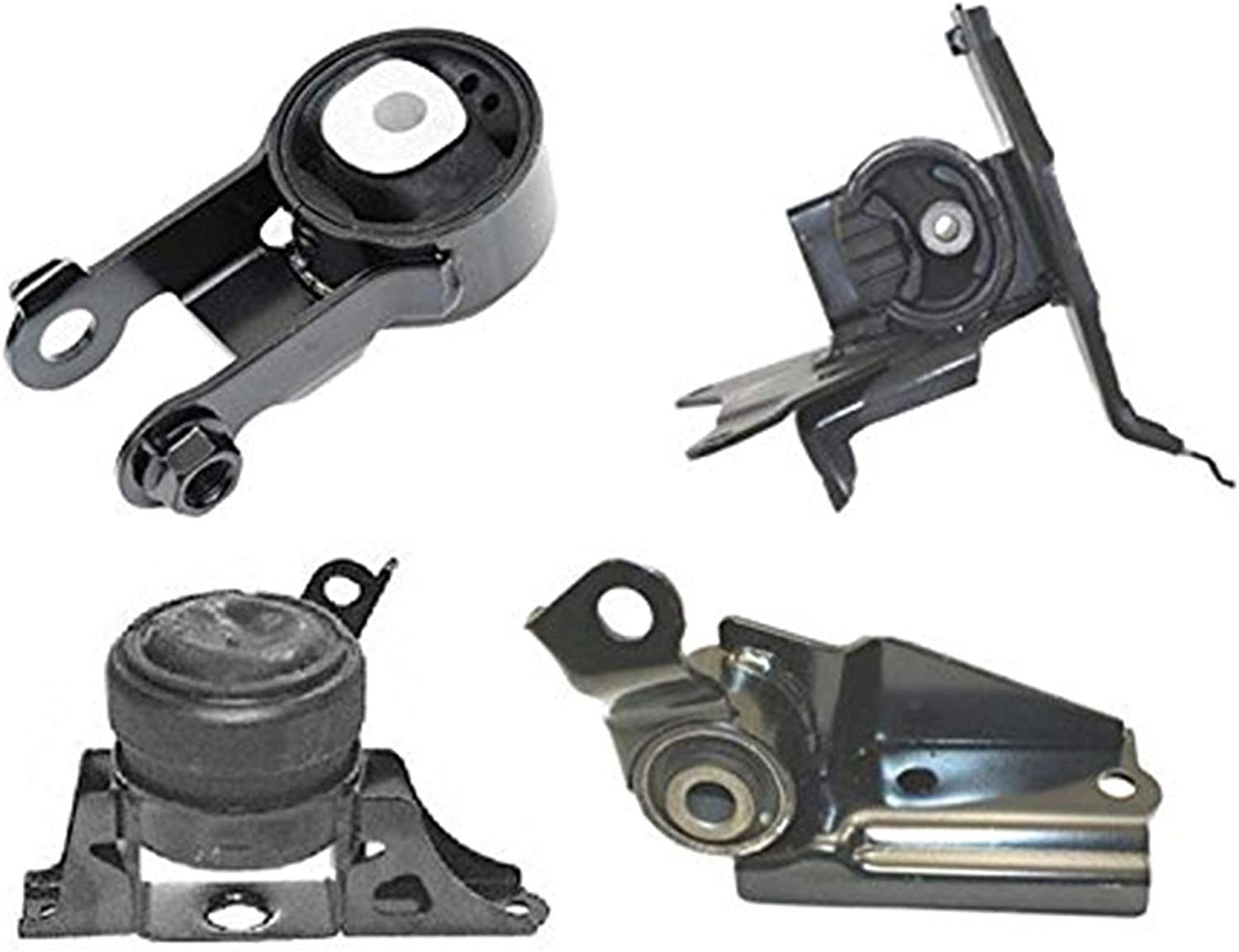Engine Motor Mounts Front Right Rear Set Kit 1.5 L For Toyota Yaris