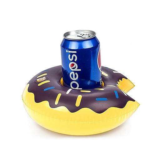 Kuke - Soporte hinchable para bebidas, diseño de donut ...