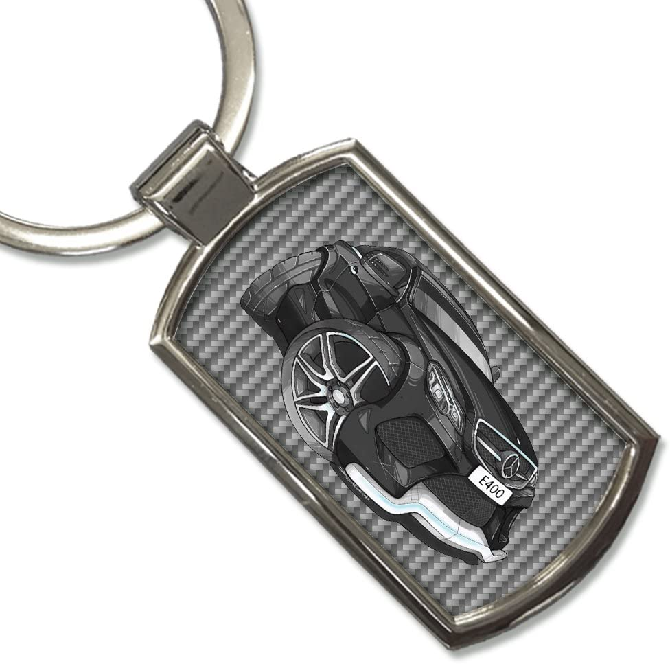 Koolart Ultimate Cartoon Ford Fiesta Zetec Silver Stainless Steel Keyring New and Direct from Kartoons