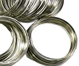 """Rockin Beads Memory Beading Wire Spring Steel, 2-1/4"""" 0.55-0.60mm Thick. 200 loops"""