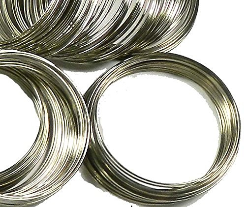 Bracelets Steel Section (Rockin Beads Memory Beading Wire Spring Steel, 2-1/4