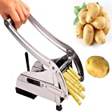 RASABA  Stainless Steel Home French Fries Potato Chips Strip Cutting Cutter Machine Maker Slicer Chopper Dicer