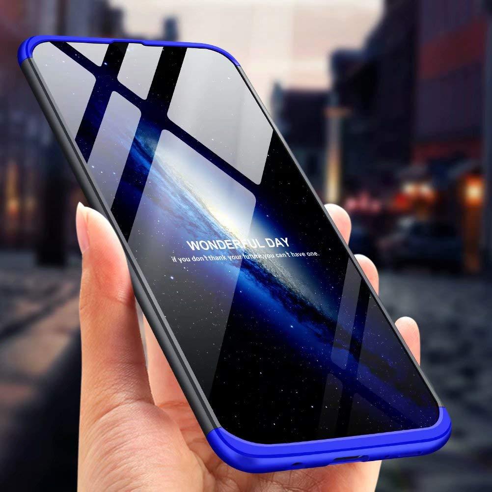 3 en 1 Hard PC Caja Cover Resistente al Desgaste+Regalar 2*HD Vidrio Templado Carcasa Case-Azul Negro Azihone Funda Compatible Samsung Galaxy Note 8 con 360/°Todo Incluido Anti-Scratch