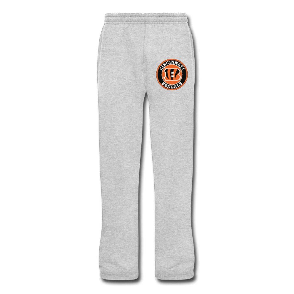 fbc6bfcd5 Men s Cincinnati Bengals Football Logo Sweatpants XXX-Large Ash (2 Colors)   Amazon.ca  Clothing   Accessories