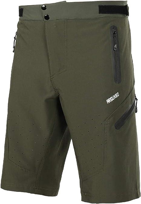 ARSUXEO Deportes al Aire Libre de MTB Pantalones Cortos de ...