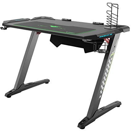 Ordinaire Eureka Ergonomic Z1 S Gaming Desk U2013 Gaming Computer Desk, Gaming Table PC  Gaming