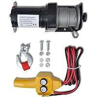 Cabrestante Eléctrico Control Remoto de Cable Mando a