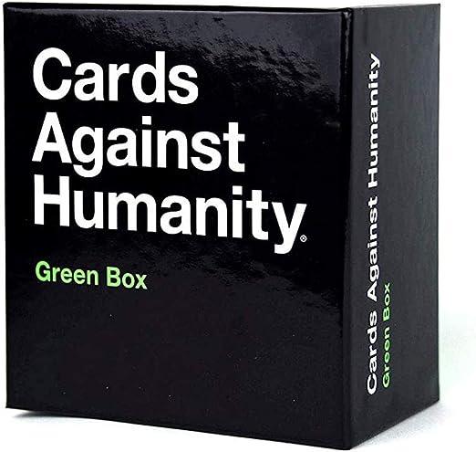 Wansheng Juegos de Cartas para Adultos/A Cards Against Humanity: Green Box/Party Games Interactive: Amazon.es: Hogar