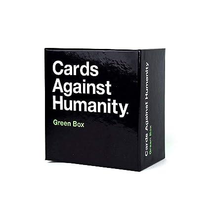 LETU Juegos de Cartas para Adultos/A Cards Against Humanity: Green Box/Party Games Juegos interactivos