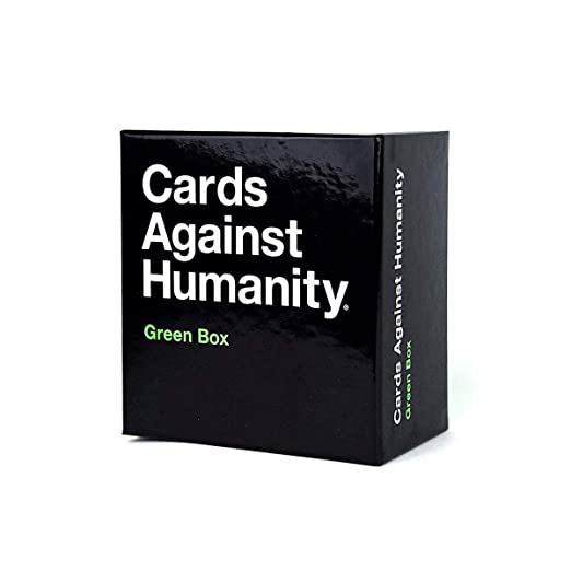 LETU Juegos de Cartas para Adultos/A Cards Against Humanity: Green Box/Party Games Juegos interactivos