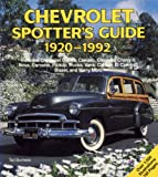 Chevrolet Spotters Guide, 1920-1992, Burness, Tad, 0879387092