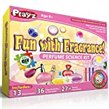 Perfume Factory Science Experiment Kit by Playz engages children in fine motor skills, new vocabulary, & concentration while having fun with perfume science projects! STEM stands for Science, Technology, Engineering and Mathematics and is...