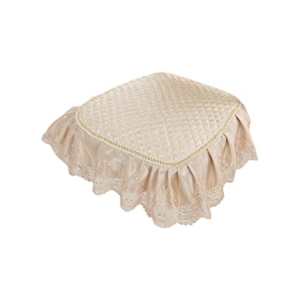 Zhi Jin European Retro Seat Pads Cushion Lace Chair Cushions With Ties Pad  For Dining Home