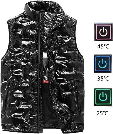 Mify Gilet riscaldato USB per Uomo//Donna Giacca Calda per la Febbre Abbigliamento riscaldante Gilet Abbigliamento Caldo Impermeabile per Lo Sci Escursioni in Bicicletta