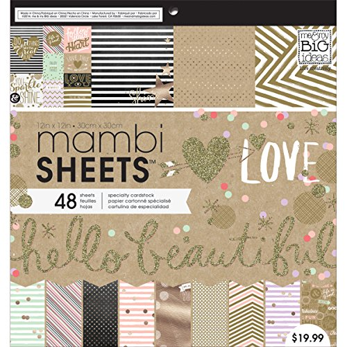 ideas Gold Mambi Sheets 12 Inch