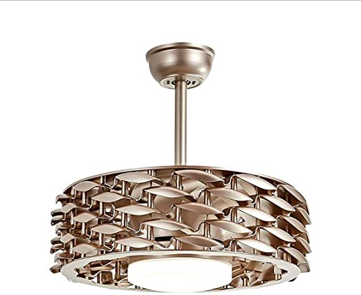 Luz del ventilador Luces de ventilador de techo modernas Comedor ...