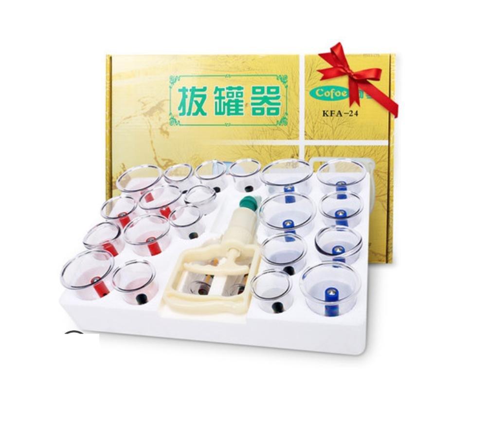 Vakuum-Schröpfen 24 Dosen von inländischen Gas Tank Saug-Typ Huoxue Huayu Schröpfen