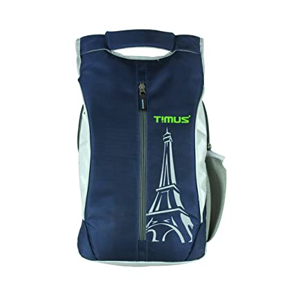cd3f86db475c Timus Class 14 litres Navy Blue Backpack  Amazon.in  Bags
