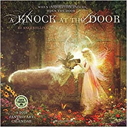 a knock at the door 2018 fantasy art wall calendar