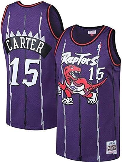 YOYO NBA Jerseys NBA Vince Carter - Toronto Raptors #15 ...