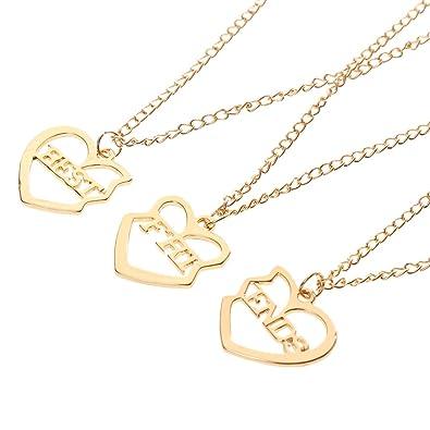 Buy generic broken heart best friends gold tone pendant chain generic broken heart best friends gold tone pendant chain friendship necklace xmas gift mozeypictures Choice Image