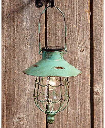 Lakeside Garden (The Lakeside Collection Hanging Solar Lantern)