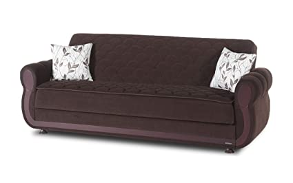 Amazon.com: Istikbal Argos Convertible Sofa with Storage: Kitchen ...