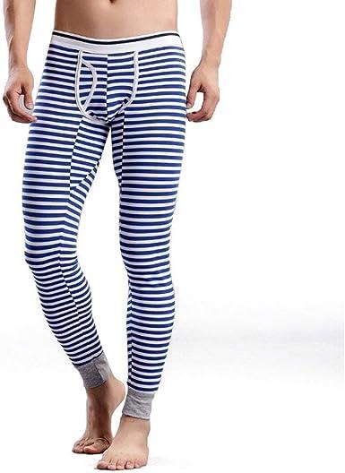 Estable Invierno para Hombre Más Pantalones Largos Raya ...