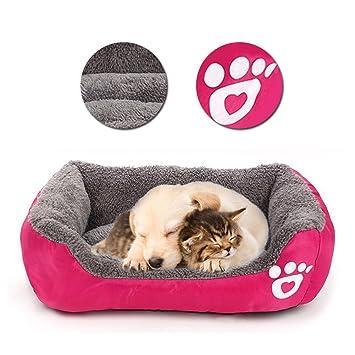 Vandot Mascotas Mat - Perro y Gato Caliente Saco de Dormir Suave Manta Cojín para Mascotas Almohada Cama ...