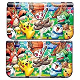 PIKACHU B for New Nintendo 3DS Skin New3DS N3DS Decal Sticker Vinyl Cover + Screen Protectors