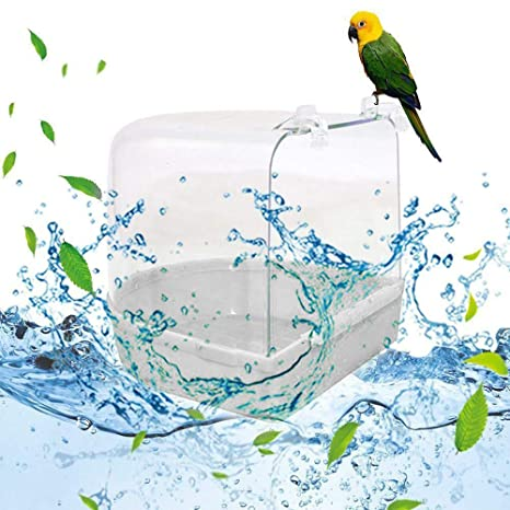 FreeLeben Bañera del Pájaro del Loro, Suministros de Baño Loro ...