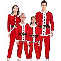 AIDEAONE Familia Pijamas de Navidad Pantalones Largos Ropa de Dormir Conjuntos de Pijamas