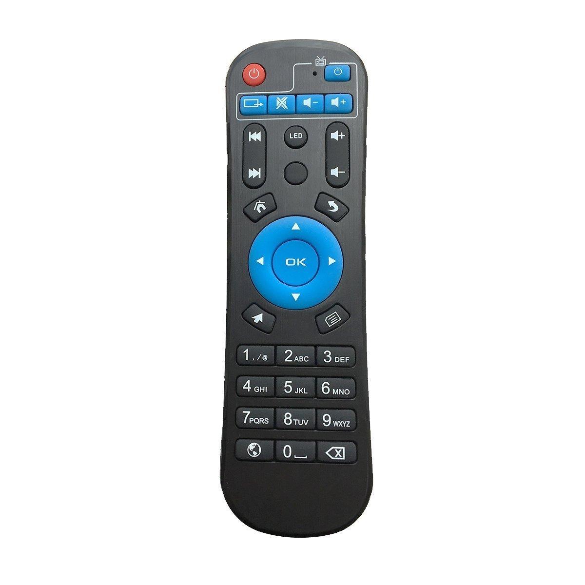 Sunray Q BOX Android Box Remote Control for T95Z Plus Smart TV Box T95K Pro, T95U Pro, T95V Pro, Q Plus