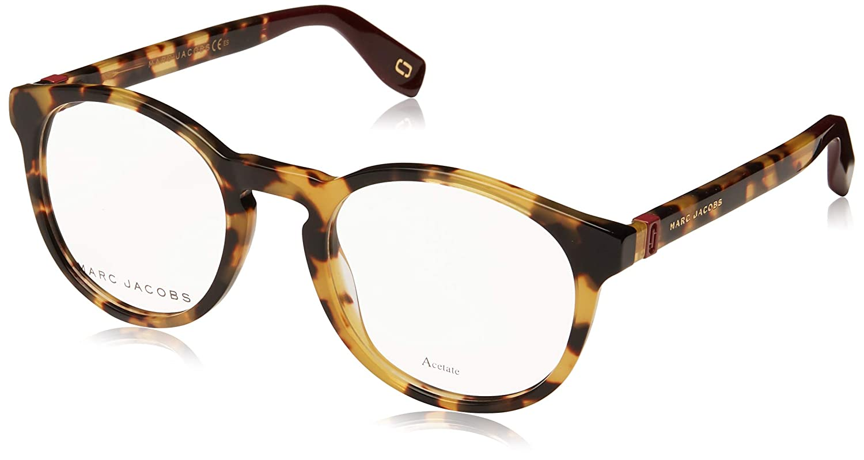 4f354d1c366a Amazon.com: Marc Jacobs Marc 352 SCL Yellow Havana Plastic Round Eyeglasses  49mm: Clothing