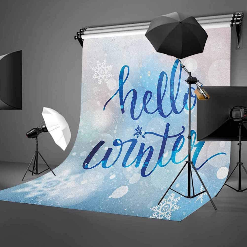 7x10 FT Landscape Vinyl Photography Backdrop,Mountain Landscape in Forest by The Lake Summer Season Countryside Photo Background for Photo Backdrop Baby Newborn Photo Studio Props