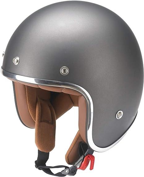 Redbike casco rb-756 Titanium moto ciclomotore Retrò Casco ECE Casco incl OMBRELLONE