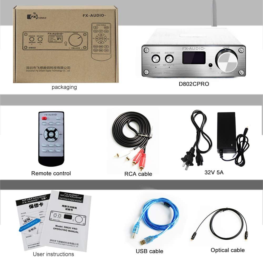 ghdonat.com Receivers & Amplifiers Electronics FX AUDIO Bluetooth ...