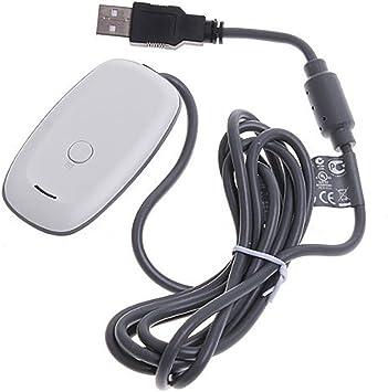 Receptor de Juego de PC inalámbrico Xbox 360 USB para Windows: Amazon.es: Electrónica