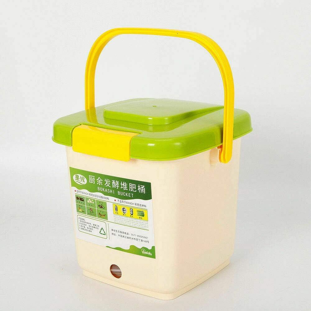 9 L, tiempo de compostaje corto K/üChe Juego de recipientes para compostaje