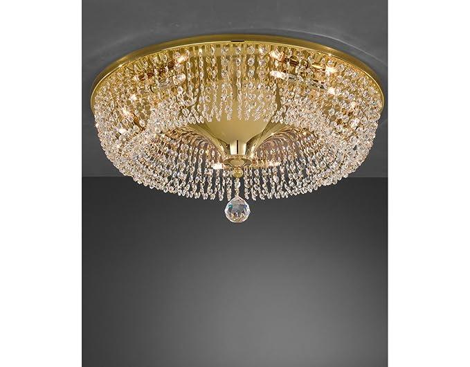 Plafoniere Soffitto Cristallo : La lampada cono di cristallo plafoniera a soffitto