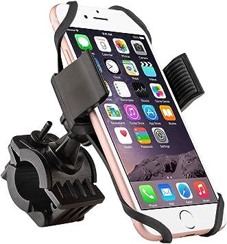 colico handyhalterung bicicleta Smartphone Soporte para teléfono móvil bicicleta ajustable para iPhone 6S/6S Plus 6/6plus 5S/4S, Samsung Galaxy S5/S4/S3: Amazon.es: Electrónica