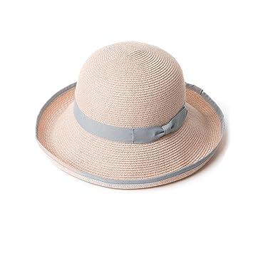 YXINY Viseras Sombrero de Sol para Mujer para Mujer de Verano de ala Ancha  Visera de d90c333d457