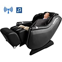 OOTORI Zero Gravity Massage Chair Recliner with 3 Levels Intensity Adjustable (Black)