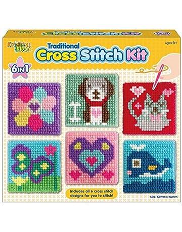 35d830f0453fc Amazon.co.uk: Cross-Stitch - Needlework: Home & Kitchen: Counted ...