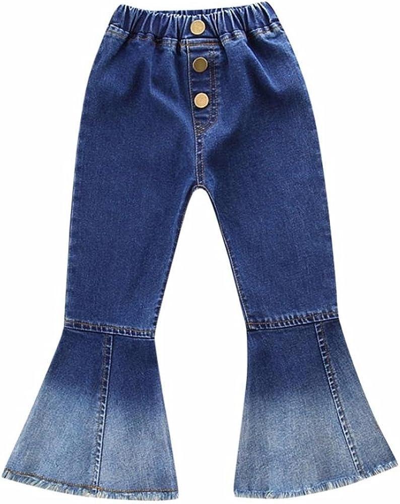 Amazon.com: g-real niños niñas pequeñas moda Bell Bottoms ...