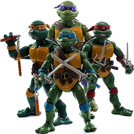 Figura de Anime Modelo Tortugas Ninja Figuras De Acción ...