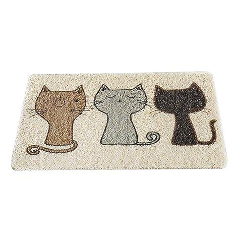 Pet Cat Litter Estera de comida- Fewao 2019 Nuevo diseño de ...